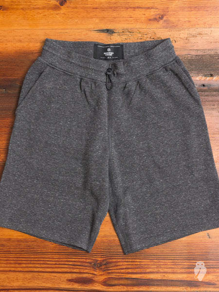"""Sea to Sky"" Bonded Terry Sweatshort in Charcoal"