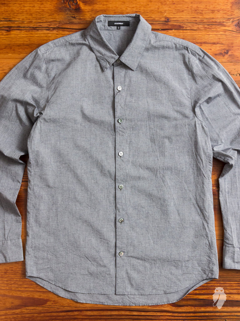 Chambray Button Down in Light Blue