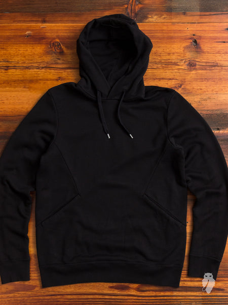 Suvin/Giza Fleece Pullover in Black