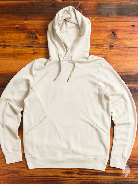 Suvin/Giza Fleece Pullover in Off White