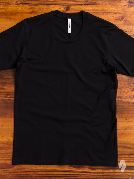 Suvin/Giza T-Shirt in Black