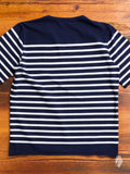 Rachel Loomed T-Shirt in Navy