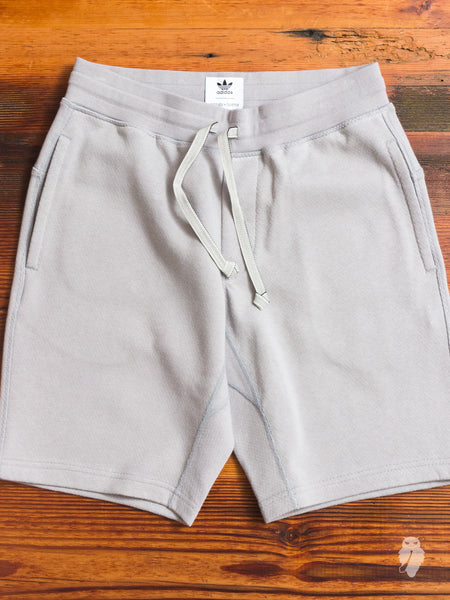 Bonded Linen Shorts in MGH Solid Grey