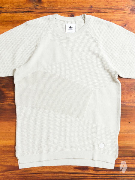 Patch T-Shirt in Hint Fog