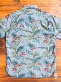 Hawaiian Button Up Shirt in Chambray