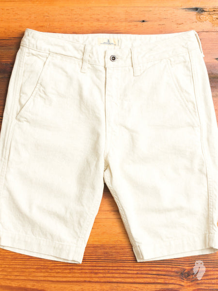 JB5500 Linen Shorts in Natural