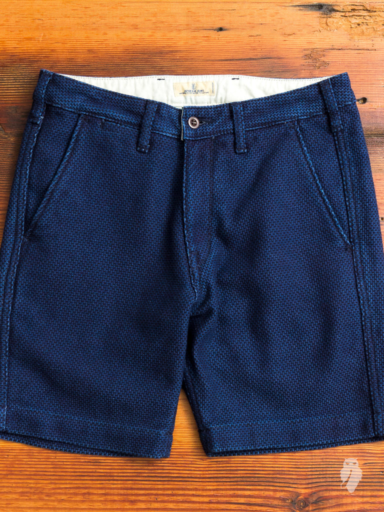 JB5100 Slim Shorts in Sashiko