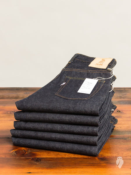 XX-019 13.8oz Unsanforized Selvedge Denim - Relaxed Tapered Fit