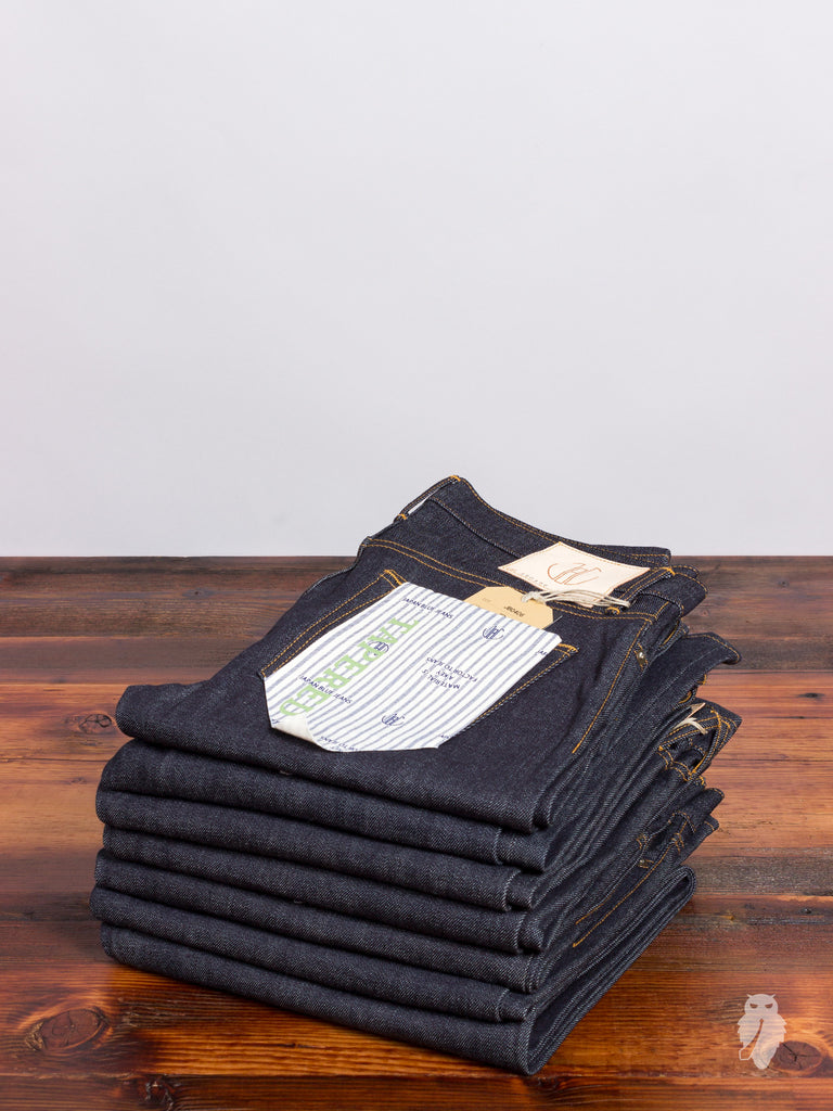 "JB0406 ""Zimbabwe + Memphis"" 14oz Selvedge Denim - Tapered Fit"