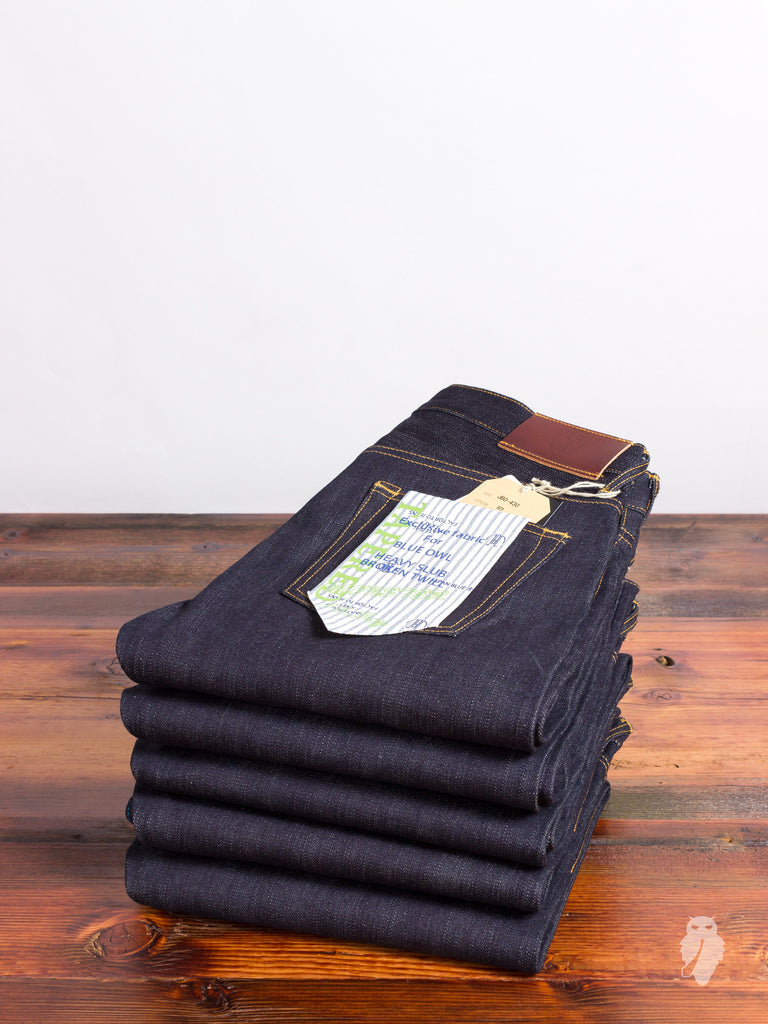 "JBO-430 ""Heavy Slub Broken Twill"" 16.5oz Selvedge Denim - Tapered Fit"