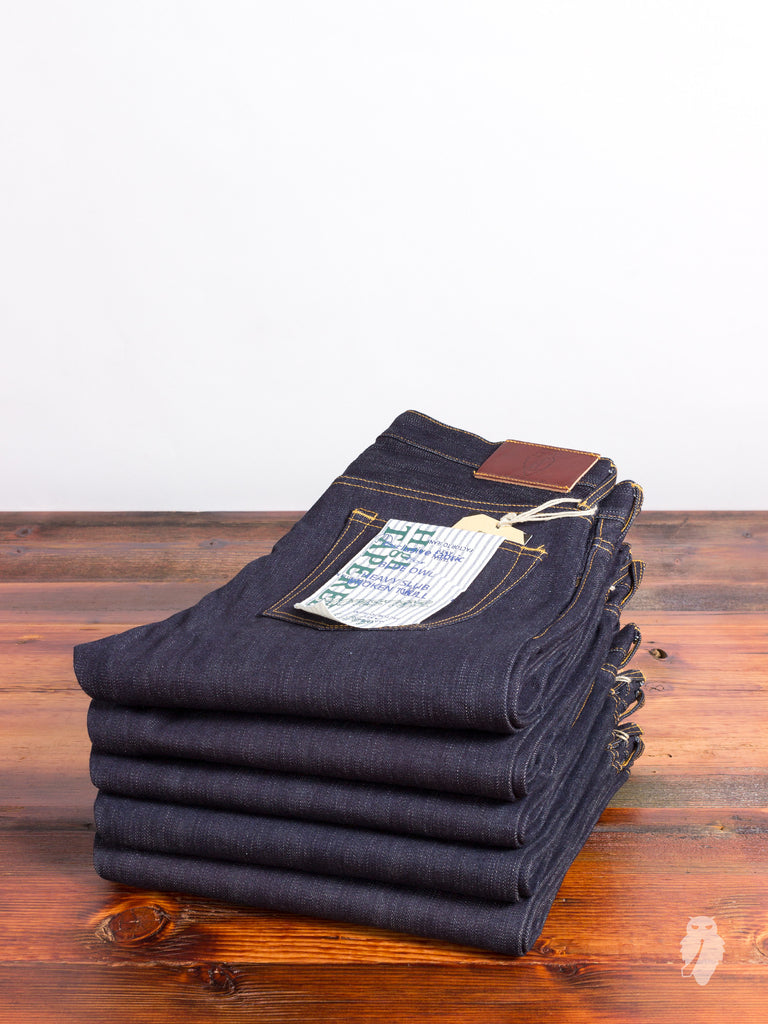 "JBO-630 ""Heavy Slub Broken Twill"" 16.5oz Selvedge Denim - High Tapered Fit"