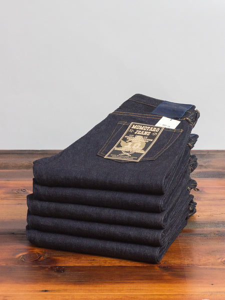 "0601-18 ""Zimbabwe Cotton"" 18oz Unsanforized Selvedge Denim - Natural Tapered Fit"