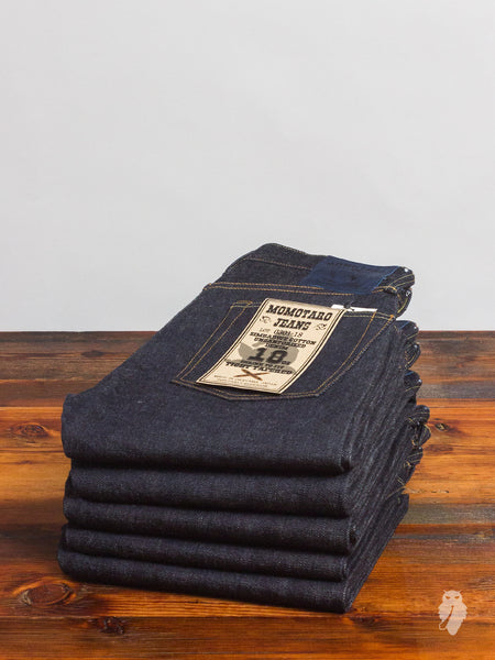 "0301-18 ""Zimbabwe Cotton"" 18oz Unsanforized Selvedge Denim - Tight Tapered Fit"