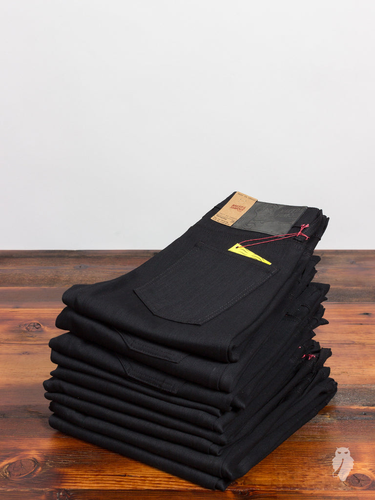 """Black Power Stretch"" 12oz Denim - Skinny Guy Fit"