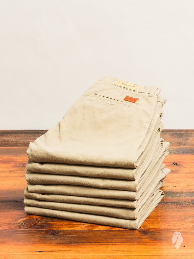 10oz Selvedge Workers Chino in Beige