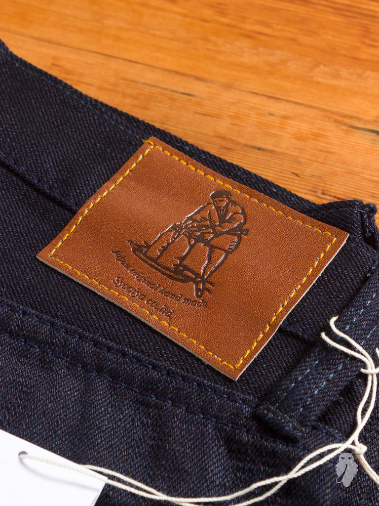 "XX-012 14oz ""Deep Indigo"" Unsanforized Selvedge Denim - Slim Tapered Fit"