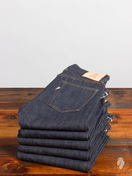 XX-013 14oz Unsanforized Selvedge Denim - Slim Tapered Fit