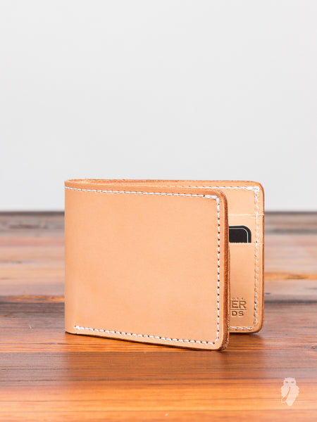 """Utility Bifold"" Wallet in Natural"
