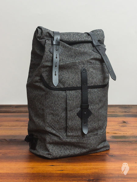 """Wilderness Rucksack"" in Black Salt & Pepper"