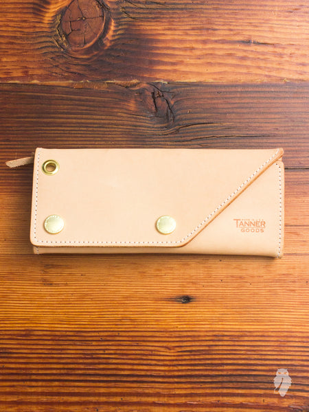 Workman Wallet in Natural