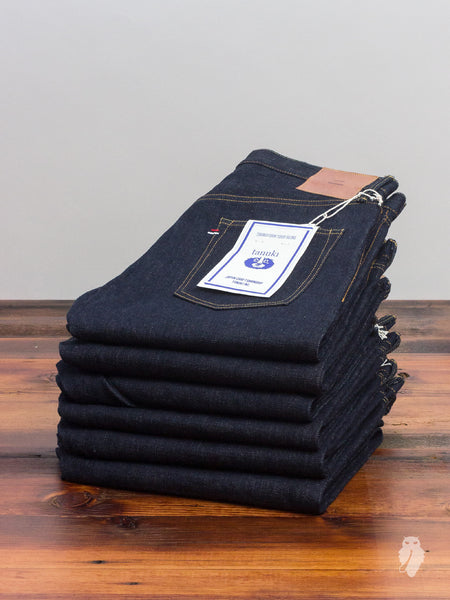 "NS1 ""Natural Indigo"" 16.5oz Unsanforized Selvedge Denim - Slim Fit"
