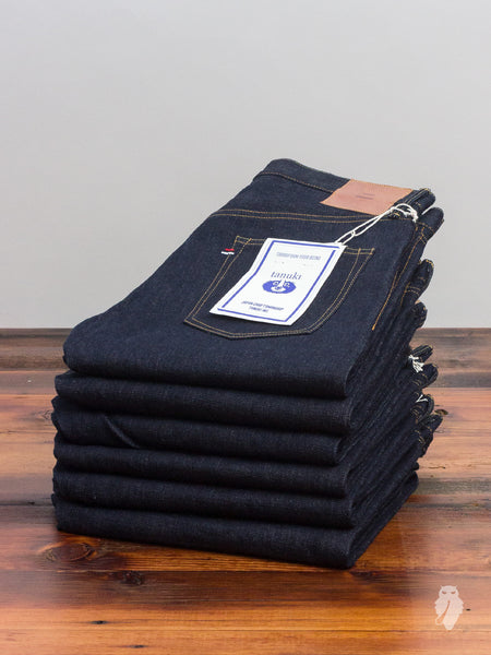 "NT1 ""Natural Indigo"" 16.5oz Unsanforized Selvedge Denim - Tapered Fit"