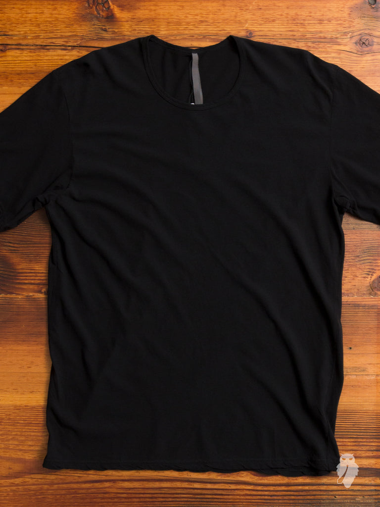 Relaxed Cut T-Shirt in Black