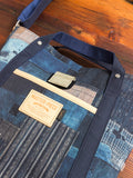 """Master-Piece x FDMTL"" Shoulder Tote in Indigo"