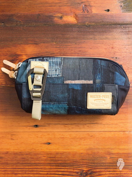 """Master-Piece x FDMTL"" Waist Bag in Indigo"