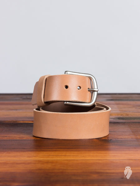"""Wenatchee Belt"" in Vegetable Tanned Horse Hide"