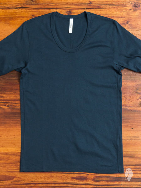 U-Neck T-Shirt in Emerald