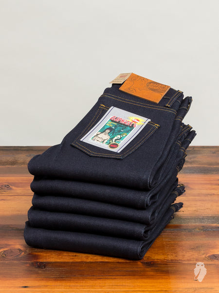 """Elephant 6"" 22oz Selvedge Denim - Super Skinny Guy Fit"