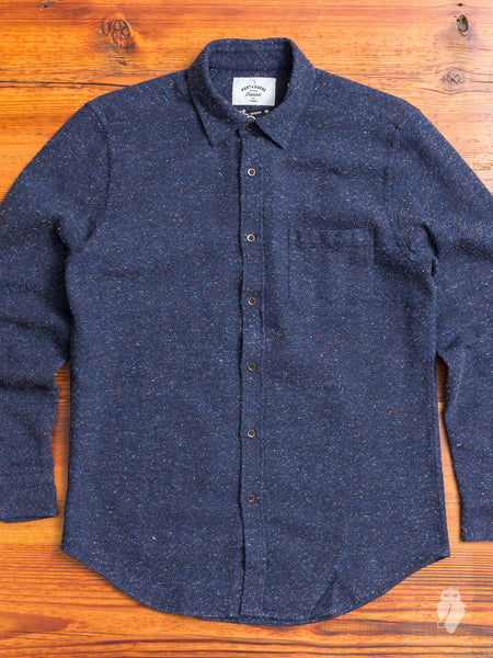 40's Button-Up Shirt in Blue