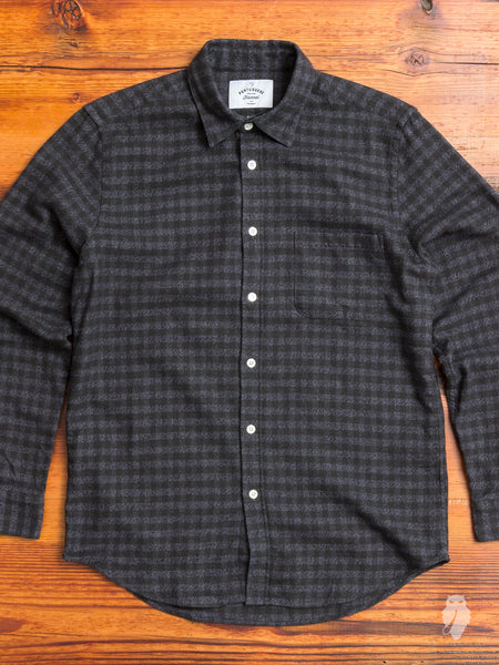 Rocha Button-Up Shirt in Black