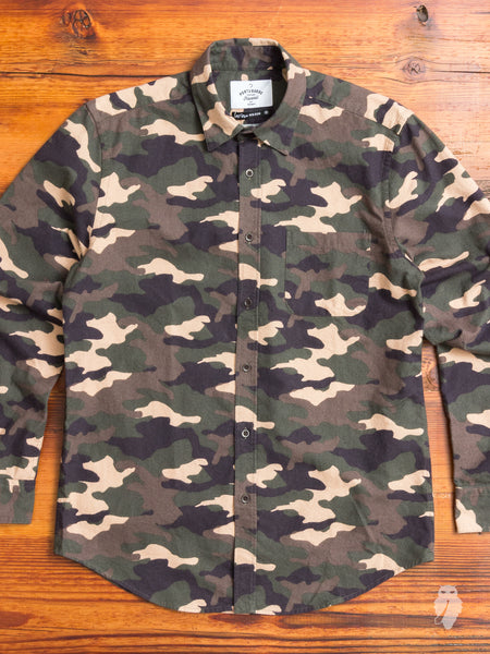 Tropa Button-Up Shirt in Camo