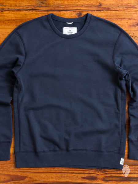 Crewneck Sweater in Steel
