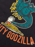 """Mighty Godzilla"" T-Shirt in Black"