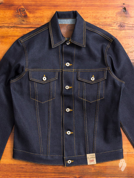 """Elephant 6"" 22oz Selvedge Denim Jacket"
