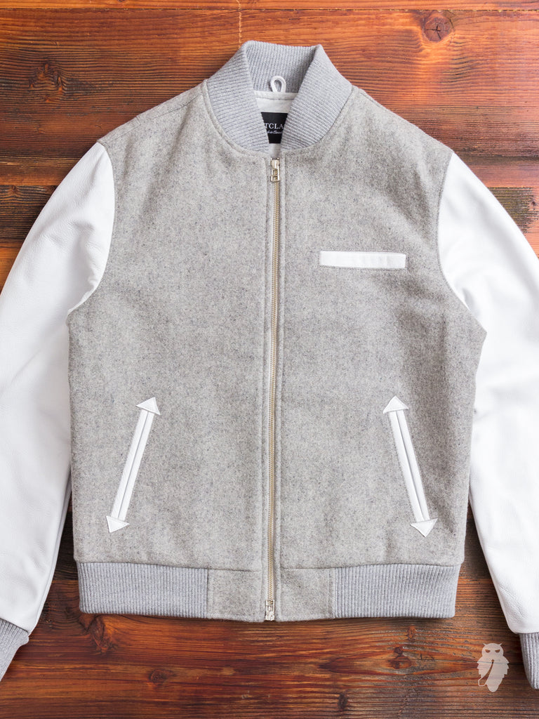 Bomber Jacket in Grey