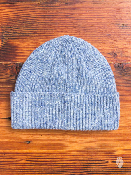 """Out of the Blue"" Wool Beanie in Mirage"
