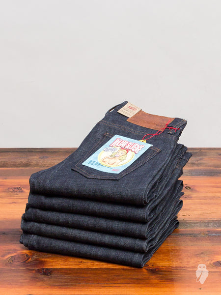 """Vulgar Selvedge"" 12.5oz Selvedge Denim - Super Skinny Guy Fit"