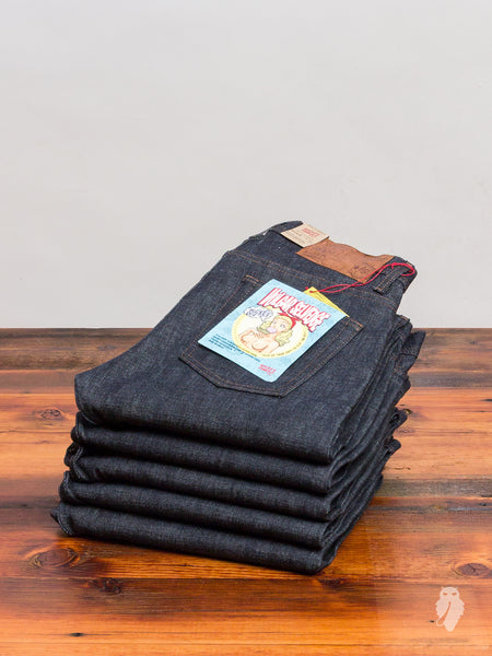 """Vulgar Selvedge"" 12.5oz Selvedge Denim - Weird Guy Fit"
