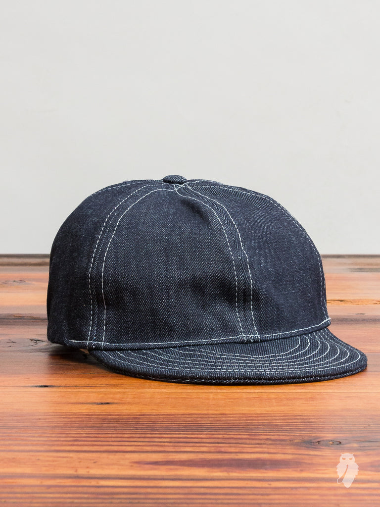 A3 Mechanic Cap in 13oz Selvedge Denim