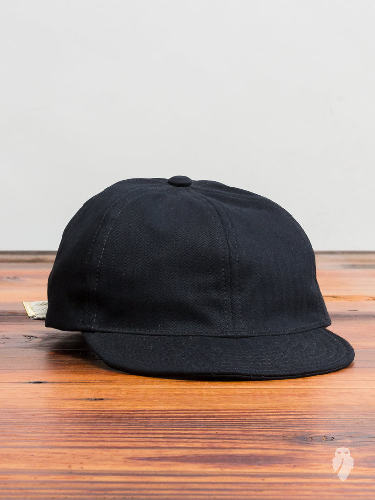 A3 Mechanic Cap in Black