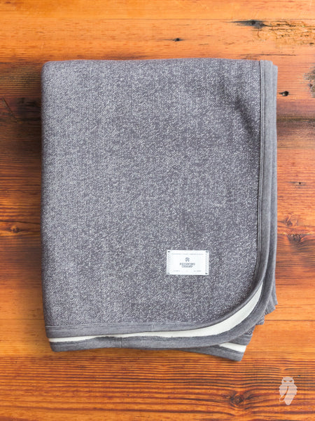 """Tiger Fleece"" Stadium Blanket in Grey"