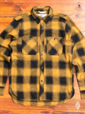 """BM Shirt"" in Gold Nep Plaid"