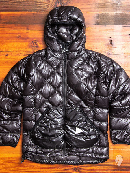 Diamond Stitch Down Jacket in Black