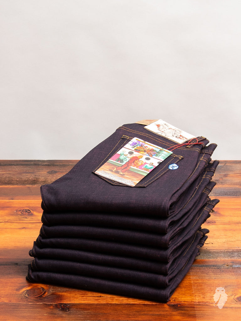 "Street Fighter II ""Ken Selvedge"" 12.5oz Selvedge Denim - Weird Guy Fit"