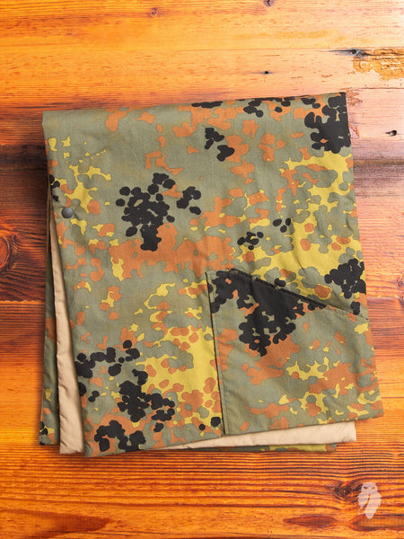 Reversible Insulated Stole in German Camouflage