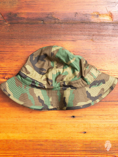 US Navy Hat in Woodland Camouflage